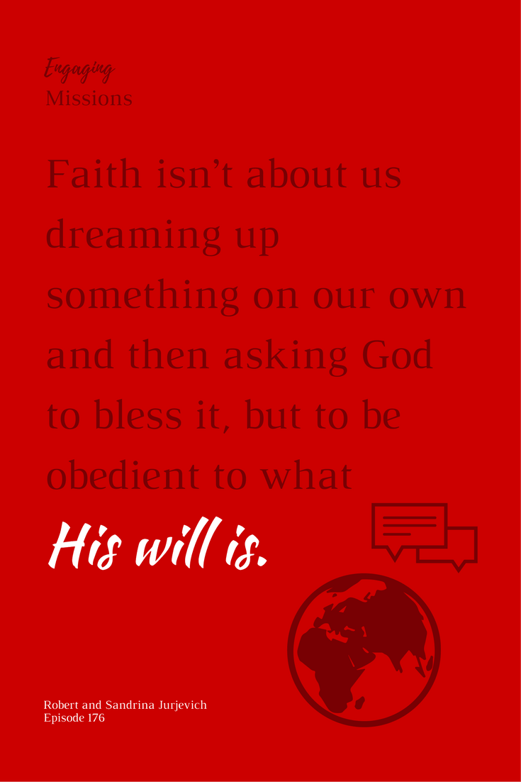 faith isn't about dreaming up something on our own