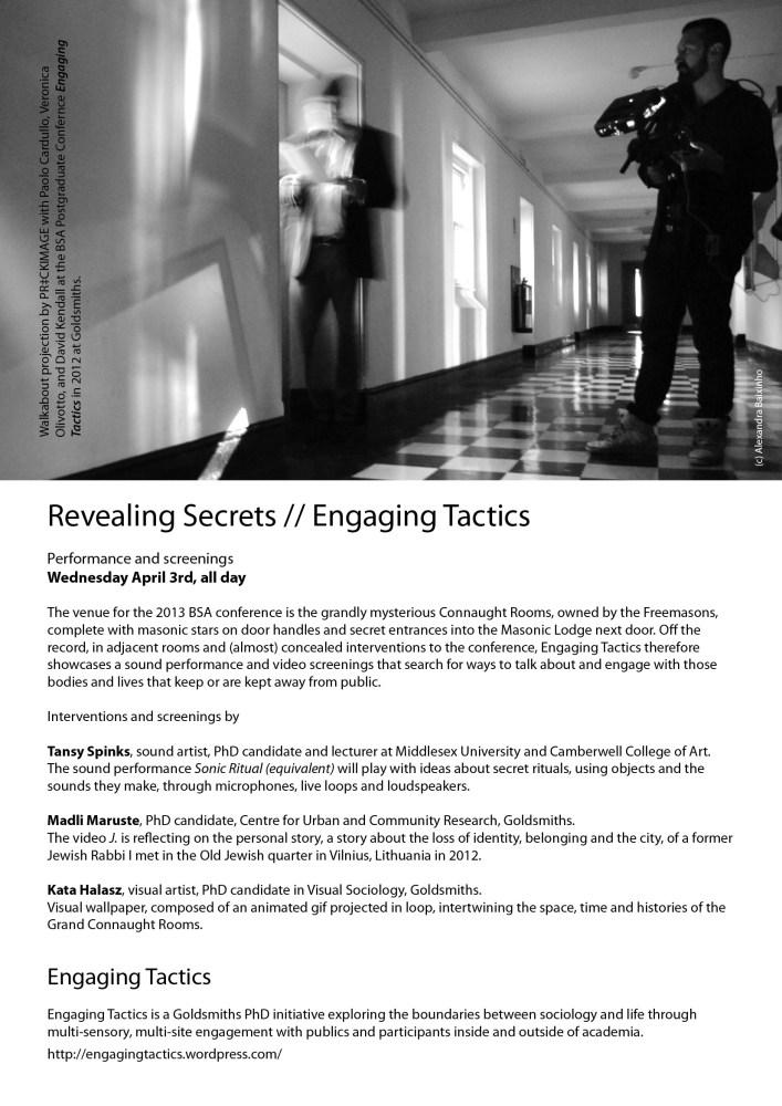 Revealing Secrets