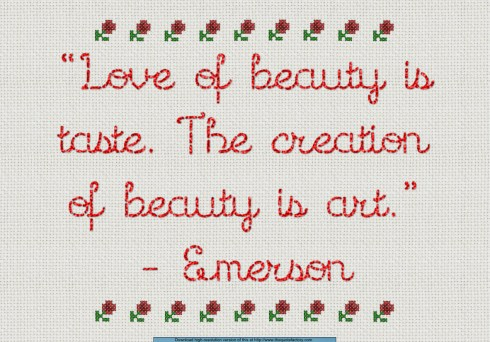 Love of Beauty Sampler
