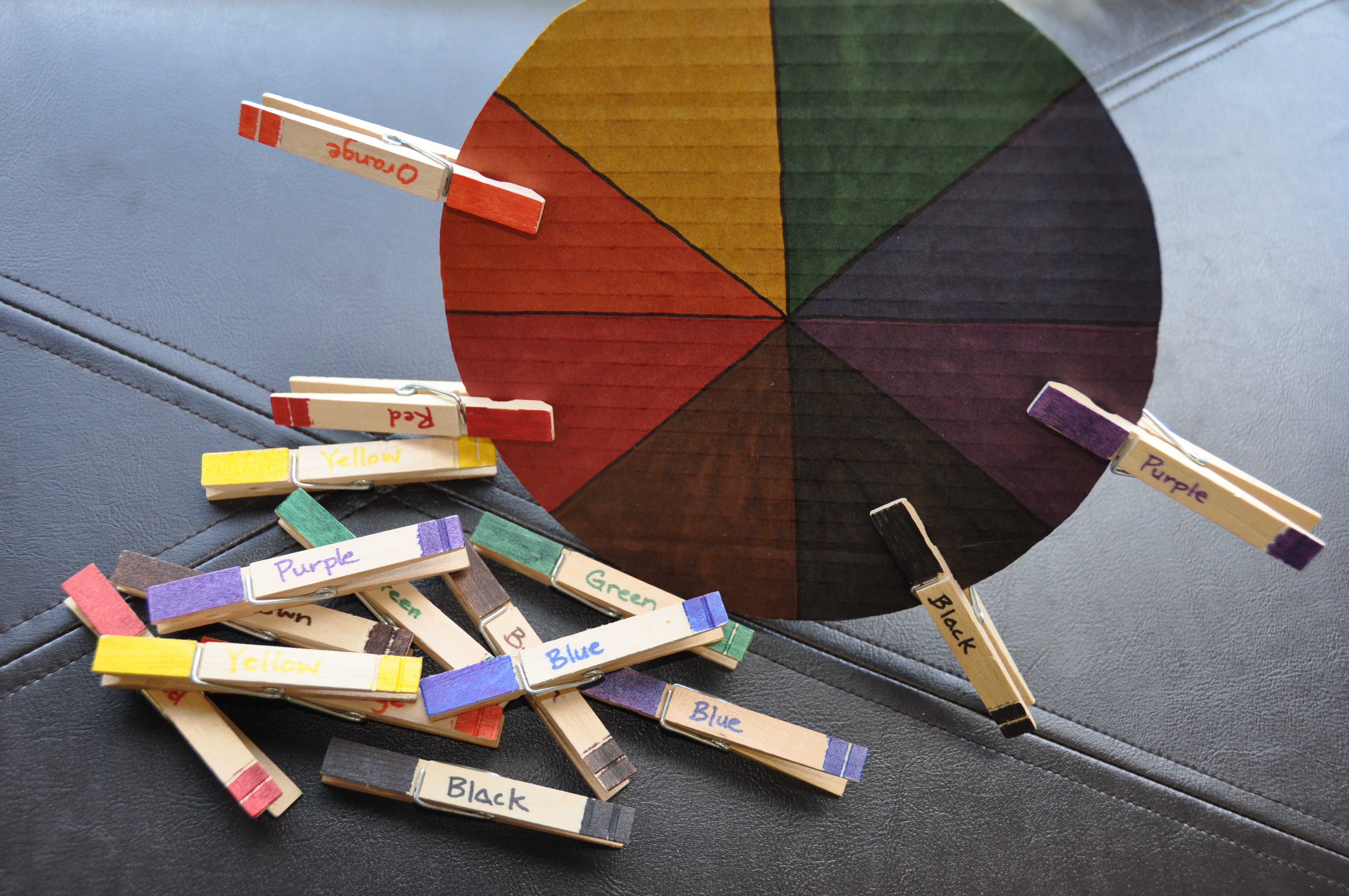 Color Wheel For Toddlers