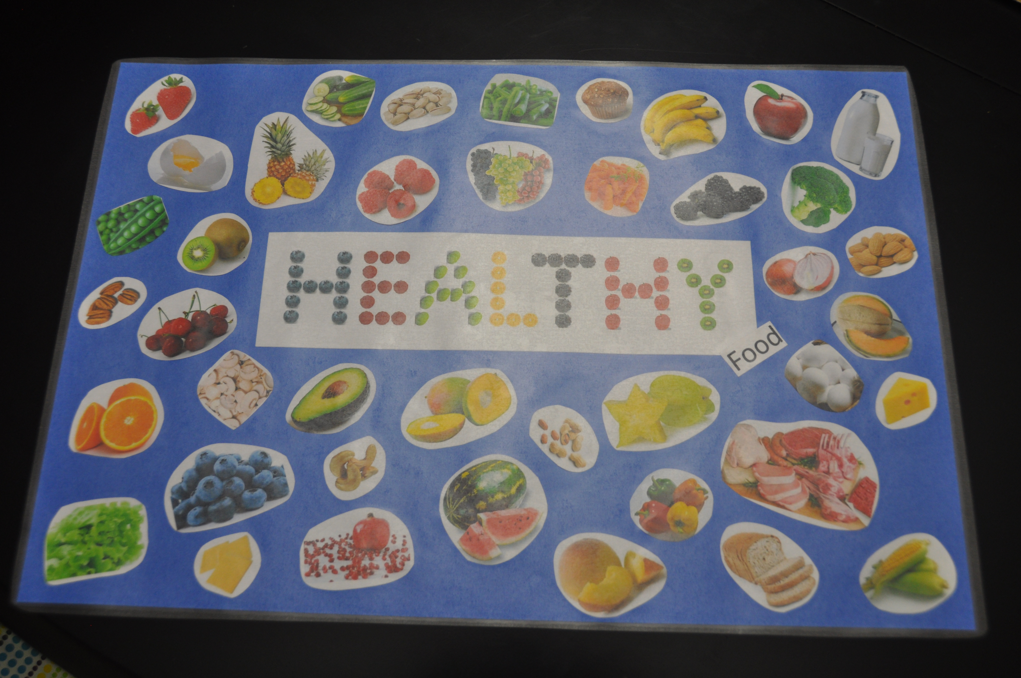 Healthy Food Placemat