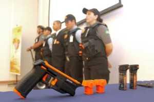 coletiva organizad pela Engaja Comunicação, assessoria de imprensa da servis segurança em fortaleza, no Ceará.