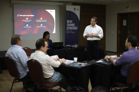 Media Training realizado com porta-vozes do Grupo Edson Queiroz
