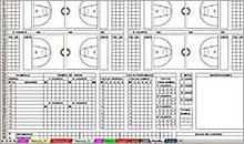 Planilla de Baloncesto en Excel