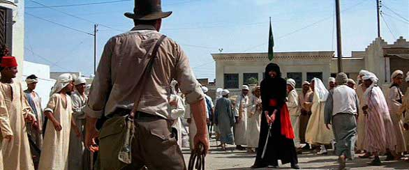 Indiana Jones sin ganas de pelear
