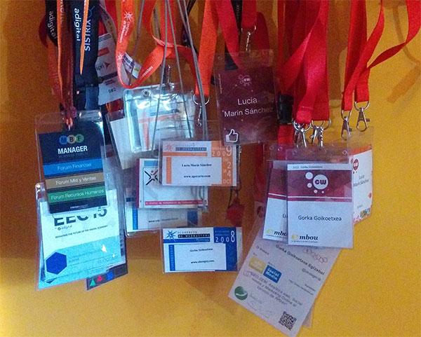 Acreditaciones de eventos y congresos