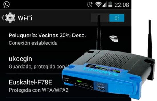 Promoción con WIFI