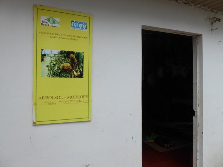 "Den Atelier vun der Kooperativ ""Santa Ana"" zu Arbosol- Morrope"