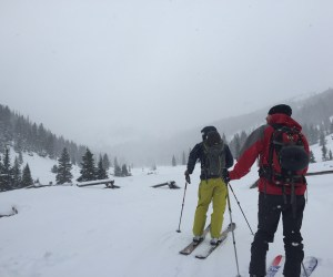 Mission Jones Pass 3Jan2015 Upper Parking Lot