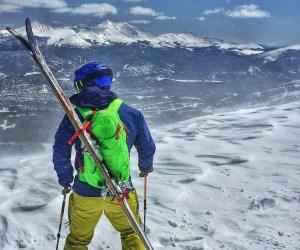 High Sierra Symmetry 18 Backcountry ski snowboard alpine touring pack