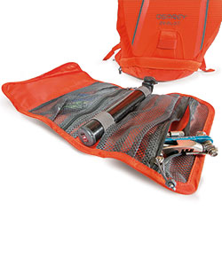 Osprey Hydraulics Hydration Pack Zealot 15 removeble tool pouch