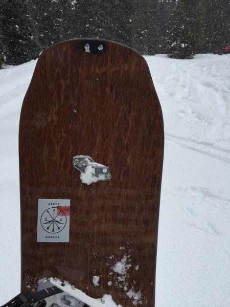 Arbor Abacus Splitboard Review