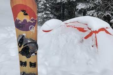 Oz Ozsym Splitboard Review