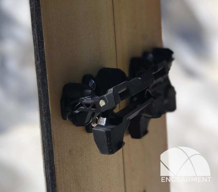Karakoram Prime X Carbon splitboard bindings