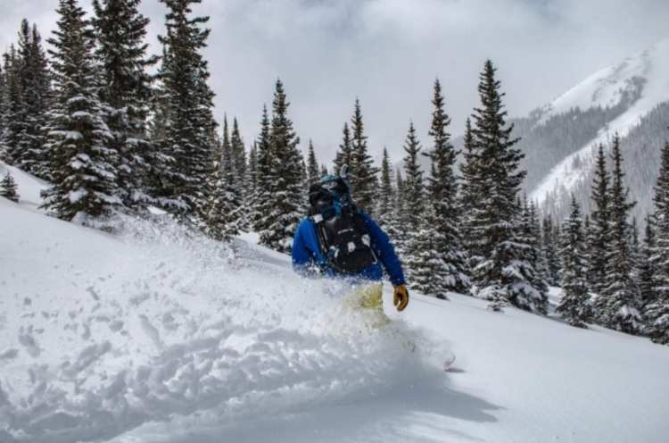 Never Summer Swift Splitboard - The Powder Board for Colorado's Variable Snow Conditions 1