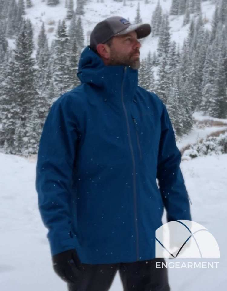 uk availability 20073 c9d47 Patagonia Powder Bowl Jacket - Recycled Gore-Tex Protection ...