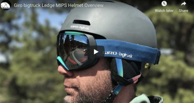 Giro x bigtruck Collab - Ledge Helmet and Onset Goggles