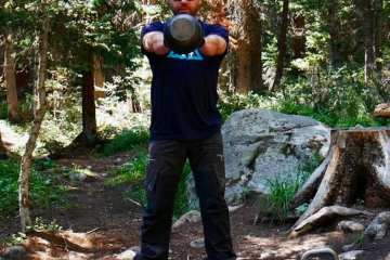 Mountain Fitness Training kettlebell swing