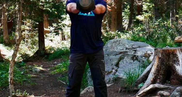 Mountain Fitness Training kettlebell swing
