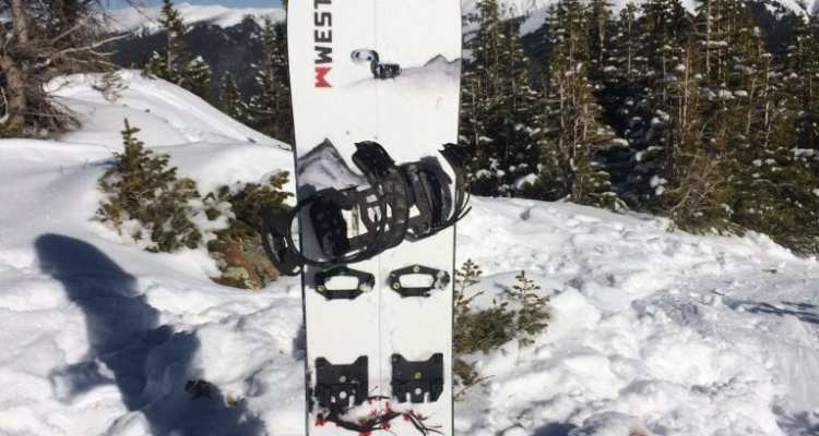 Weston Backcountry Japow Splitboard
