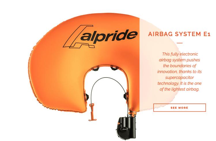 E1 Airbag system
