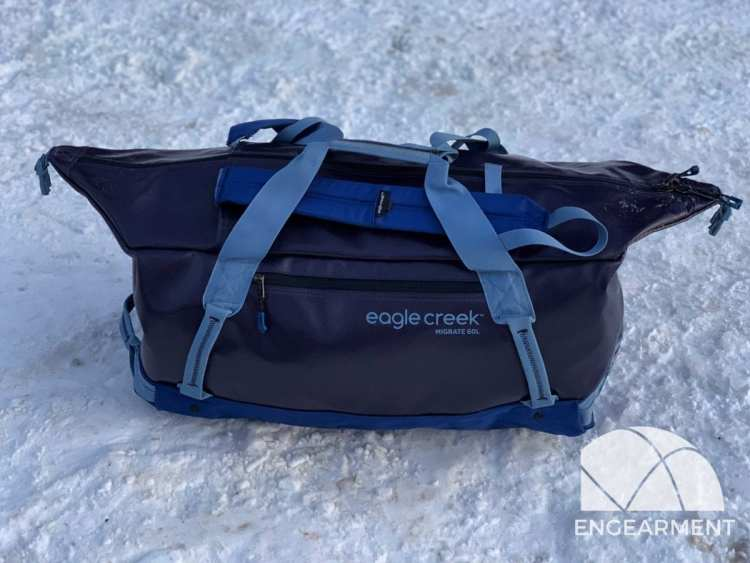 Eagle Creek Migrate Duffel - Recycled Windshields to Travel Bag 5
