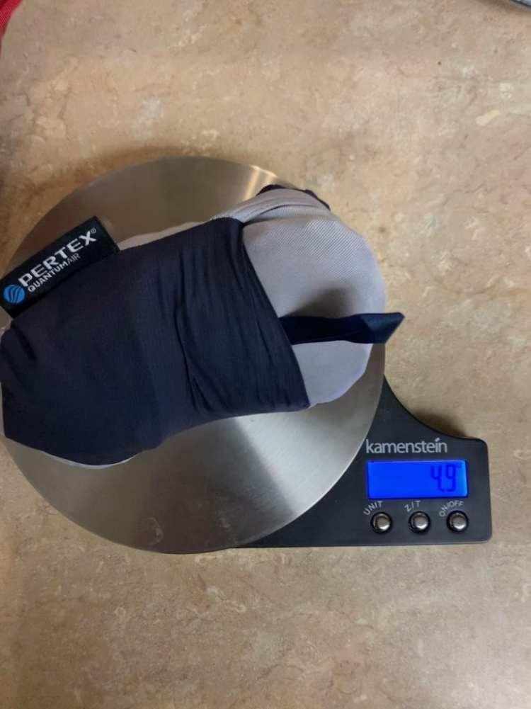 Mountain Hardwear Kor Preshell weight