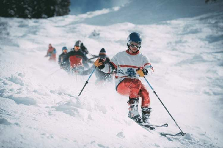 skiers at squaw