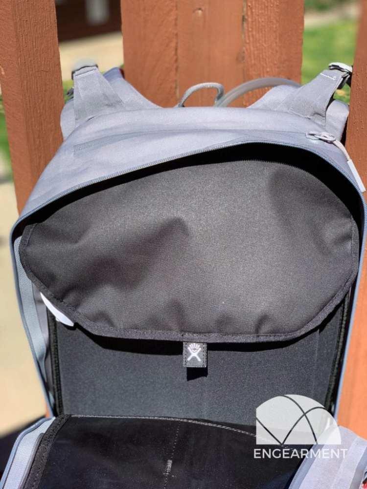 Hydro Flask Journey Hydration Pack Main Pocket on 20L