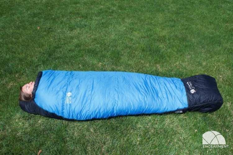 Mountain Hardwear Lamina -15ºF Sleeping Bag; Low Temps, High Comfort 1
