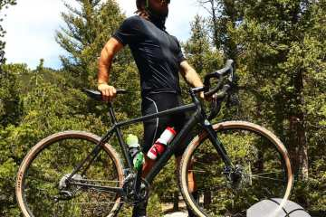 Will and his Cannondale