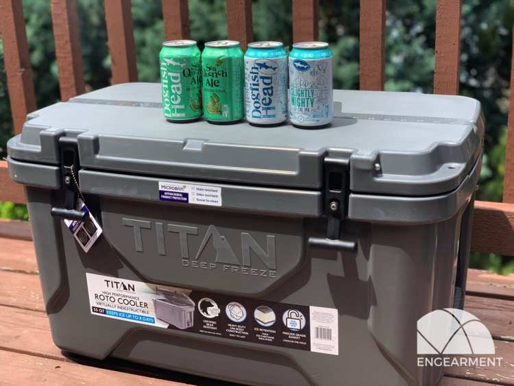 Arctic Zone Titan 55Q Deep Freeze Roto Cooler
