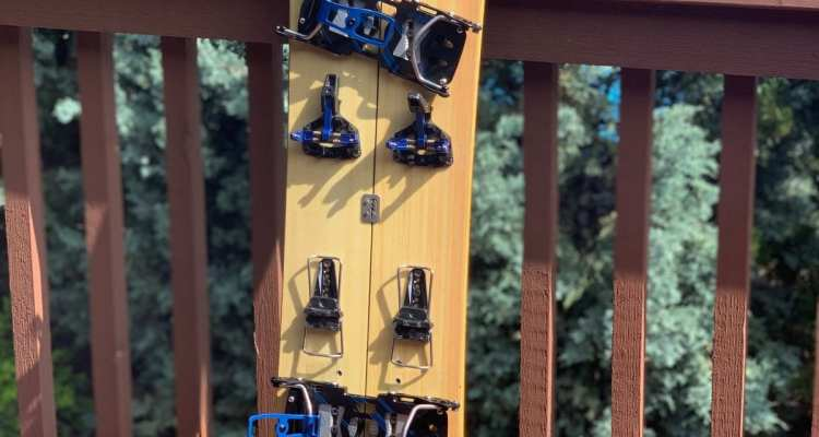 Spark R&D Hardboot set up on Sean's Oz splitboard