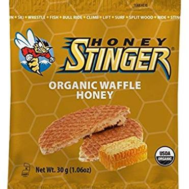 Honey Stinger old packaging