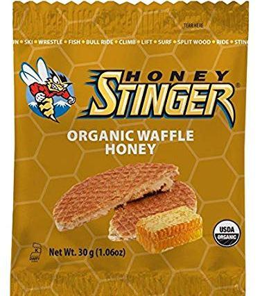 Honey Stinger old packaging