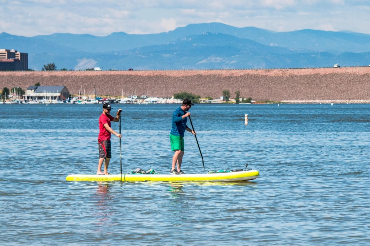 Red Paddle Co Voyager Tandem 15' Paddleboard - Engearment