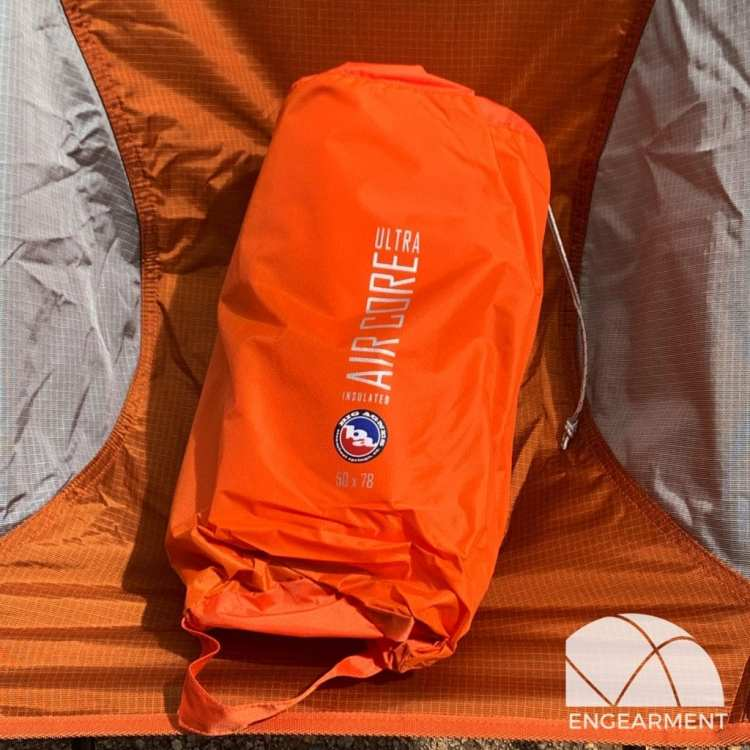 Big Agnes Insulated Air Core Ultra Review Engearment.com