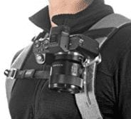 Peak Design Capture clip on backpack