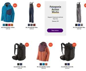 Patagonia SnowDrifter Lineup