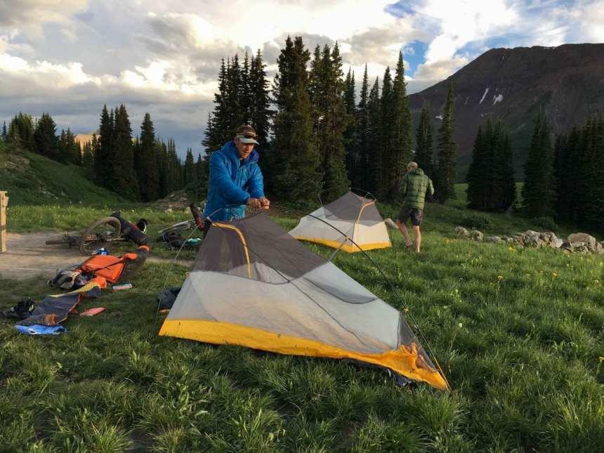 Big Agnes Fly Creek HV UL2 Bikepacking Tent Engearment