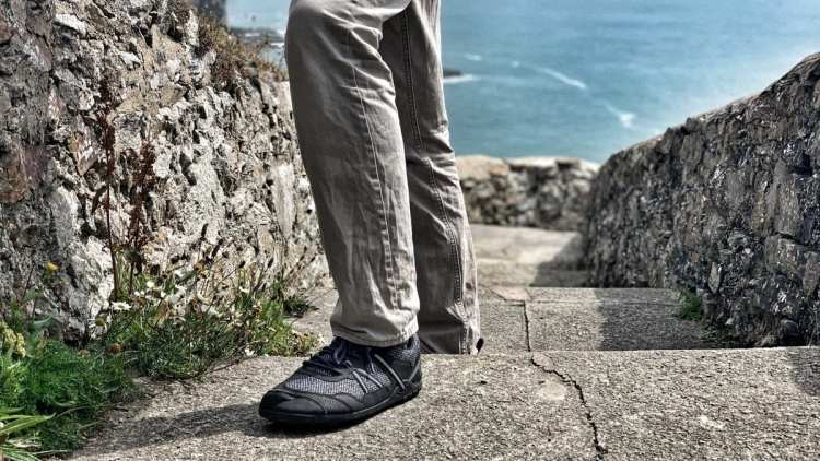 minimalist shoes Keeping it light while visiting lighthouses. Xero Terraflex at South Stack, Anglesey, Wales