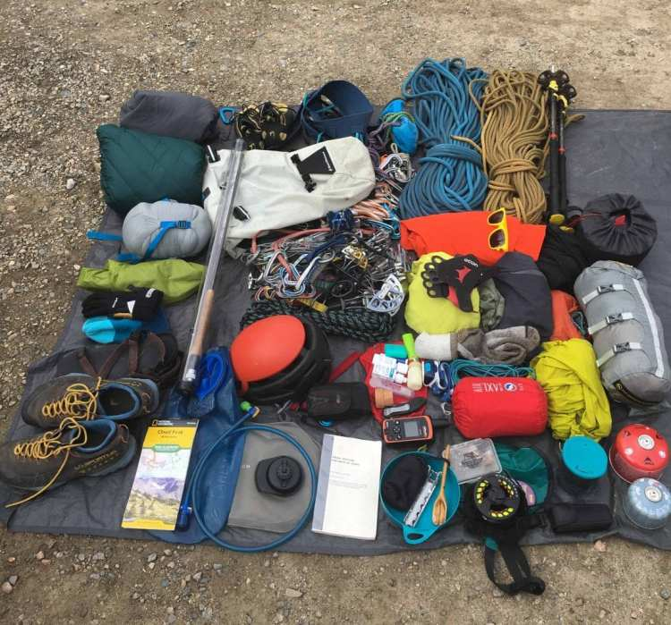 Backcountry Rock Climbing Gear Guide