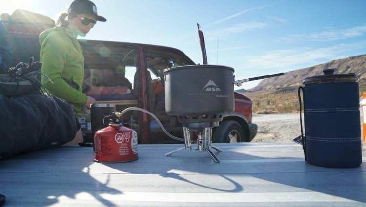 MSR Windburner Group stove