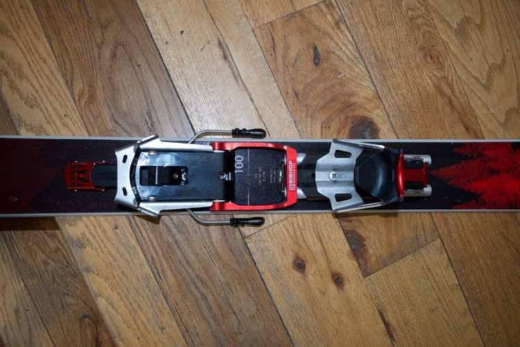 Bishop BMF/R Telemark Touring Binding review Engearment Birds eye view of the BMF/Rs