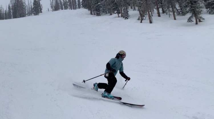 Bishop BMF/R Telemark Touring Binding review Engearment