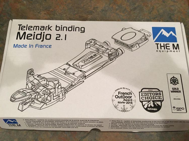 M Equipment Meidjo 2.1 Telemark Binding Review Engearment