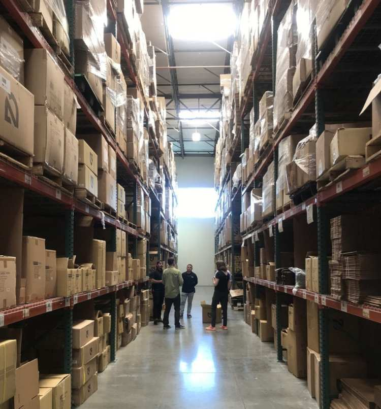 NEMO significantly reduced packaging waste in their main warehouse in California