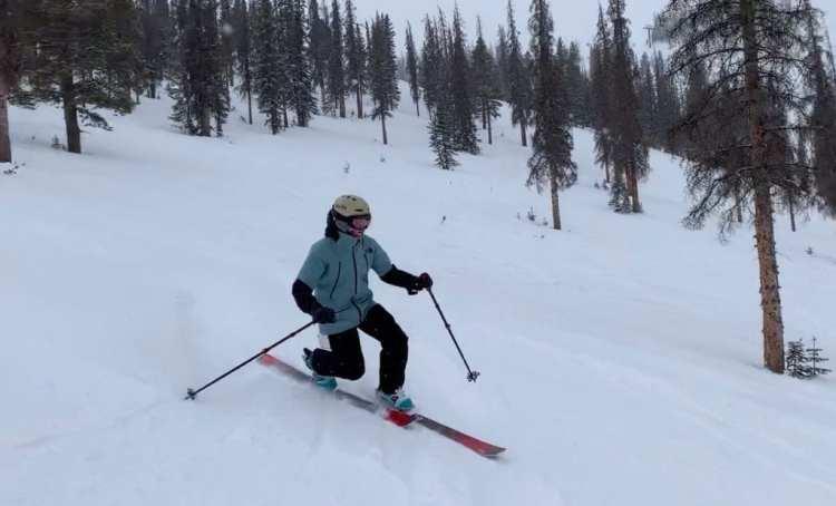 Liberty Evolv100 Skis review Engearment