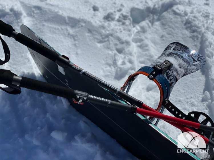 MSR DynaLock Ascent Carbon Backcountry Poles