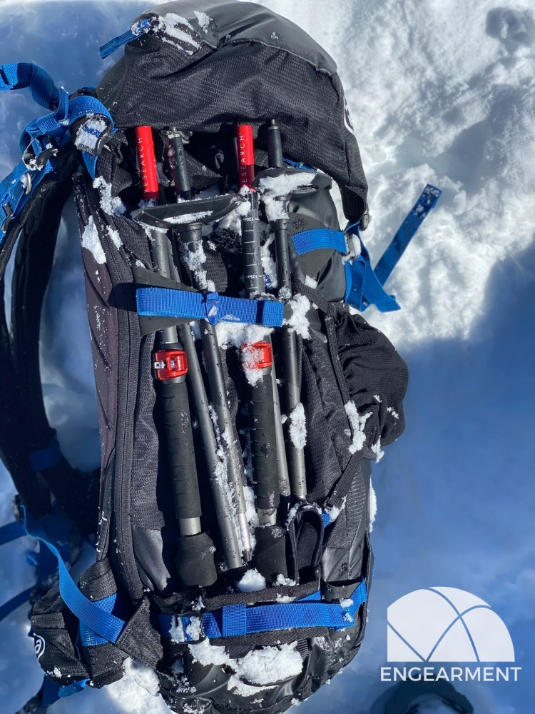 MSR DynaLock Ascent Carbon Backcountry Poles